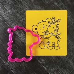 Мишка с лошадкой №1
