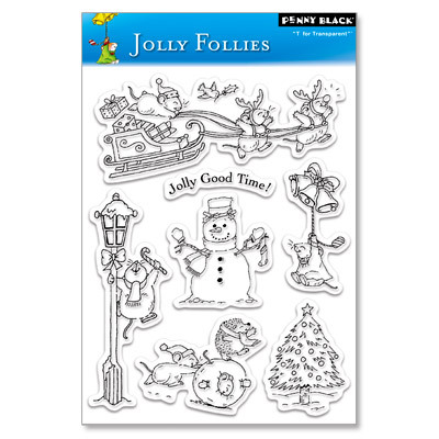 Набор штампов jolly follies