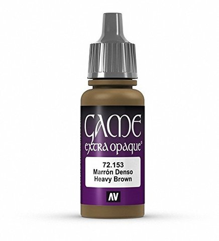 Game Color Heavy Brown 17 ml.