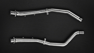 Capristo exhaust system for Mercedes GLE 63 S