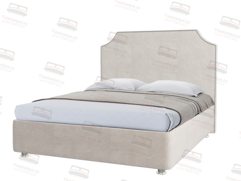 Кровать Sontelle Лабири с мягким изголовьем