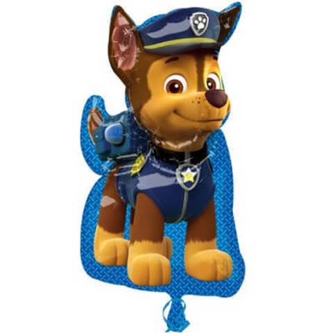 Фигура фольга Щенячий патруль. Чейз