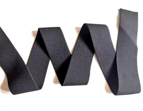 Мягкая резинка для пояса, 4см, черная, м