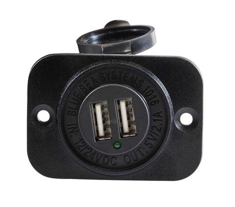 Разъем USB 5 В, 2,1 А, на панели