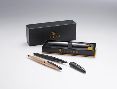 Cross ATX - Brushed Rose Gold PVD, шариковая ручка123