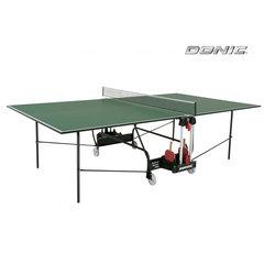 Теннисный стол DONIC INDOOR ROLLER 400 GREEN 19mm , с сеткой