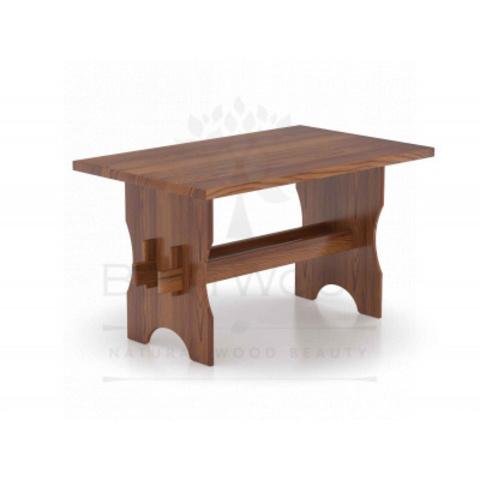 Стол для бани 130 х 80 (лиственница морёная)
