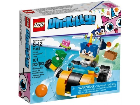 LEGO Unikitty: Велосипед принца Паппикорна 41452 — Prince Puppycorn Trike — Лего Юникитти