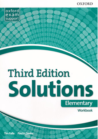 Solutions (3rd edition) Elementary: Workbook