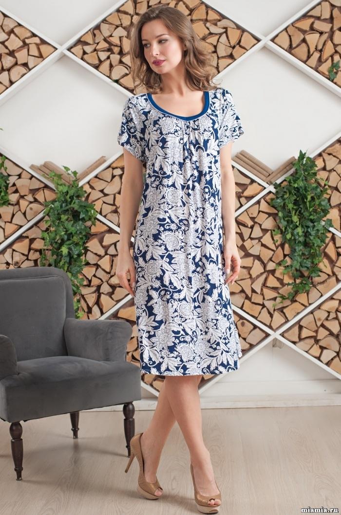 MIA-MIA (Италия) Сорочка  женская бамбуковая  MIA-AMORE MADLEN  МАДЛЕН 6385 6385.jpg