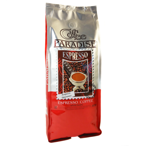 Кофе молотый Paradise Эспрессо Оригинал, 1 кг