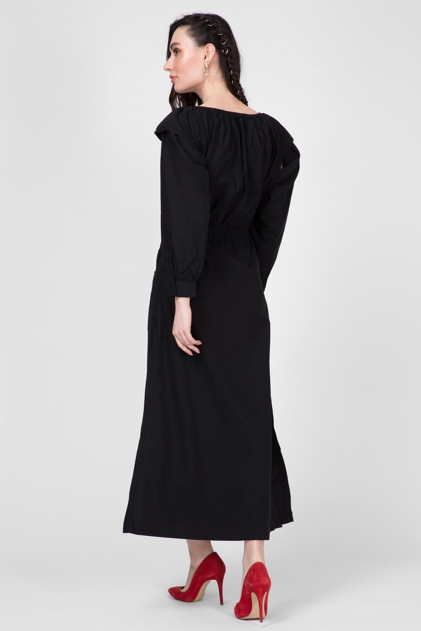 Женское черное платье D-PETAR Diesel