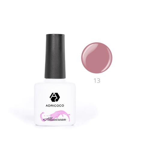 Гель-лак ADRICOCO Est Naturelle №13 камуфлирующий карамельно-розовый (8 мл.)