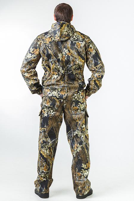 Выкройка костюма для леса без подкладки