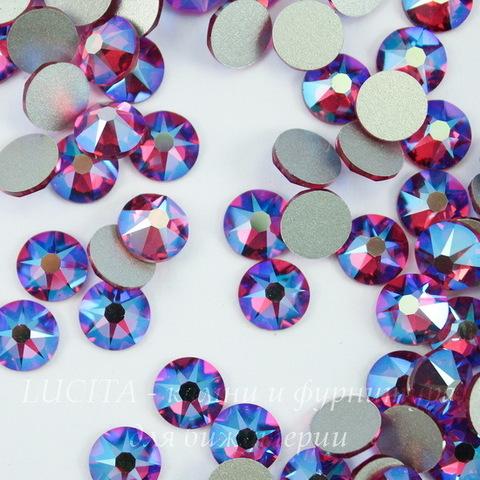 2088 Стразы Сваровски холодной фиксации Fuchsia Shimmer ss30 (6,32-6,5 мм)