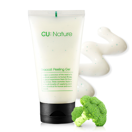 Купить Пилинг-скатка с экстрактом брокколи CU:NATURE Broccoli Peeling Gel