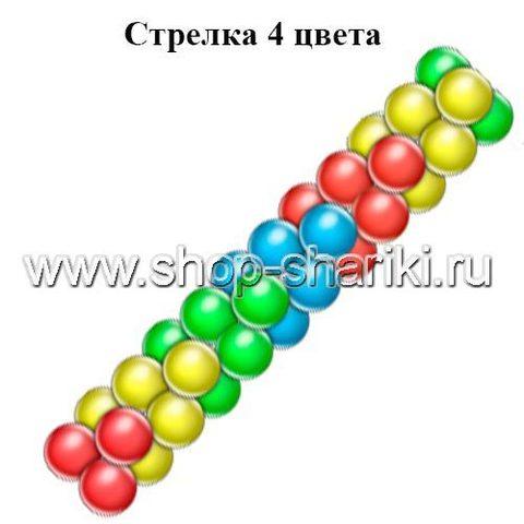 shop-shariki.ru Гирлянда из шаров