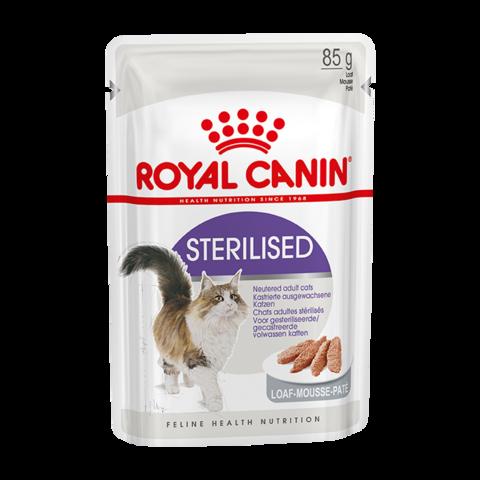 Royal Canin Sterilised Консервы для взрослых стерилизованных кошек Паштет (Пауч)