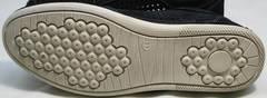 Летние сникерсы кроссовки синие с белой подошвой мужские Vitto Men Shoes 3560 Navy Blue.