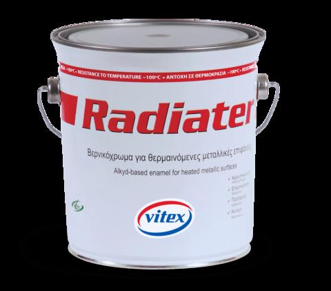 Эмалевая краска Radiater для нагревающихся поверхностей (100°С)