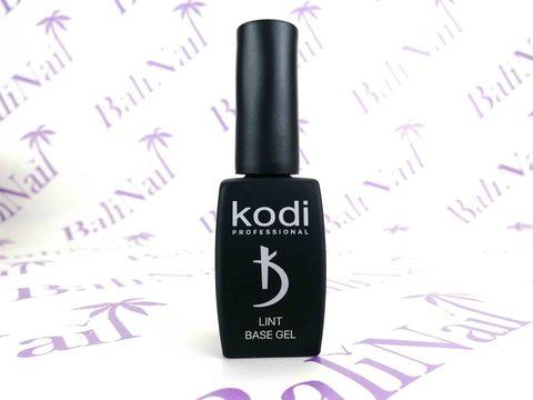 KODI, Базовое покрытие с ультратонким шелковистым микроволокном Lint base gel, 12 мл