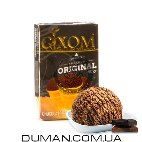 Табак Gixom Choco Plombir (Гиксом Шоколадный Пломбир)