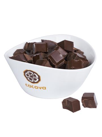 Молочный шоколад 50 % какао, на эритрите, внешний вид