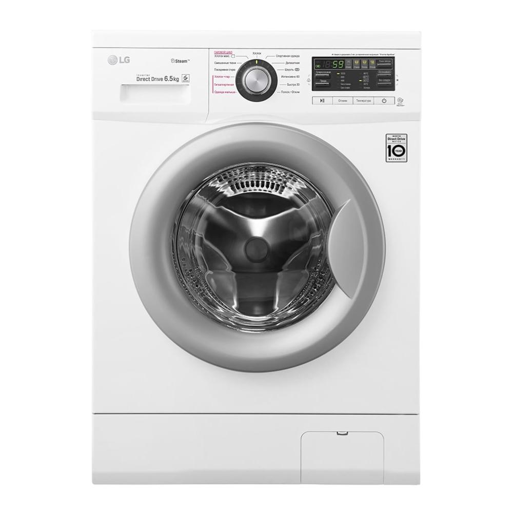 Узкая стиральная машина LG с функцией пара Steam F12B8WDS7 фото