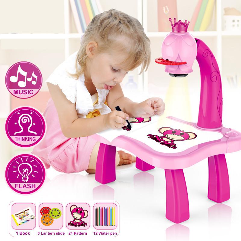 Товары на Маркете Детский проектор для рисования со столиком Projector Painting Projecnor_Painting.jpg