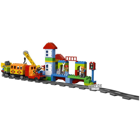 LEGO Duplo: Большой поезд 10508 — Deluxe Train — Лего Дупло