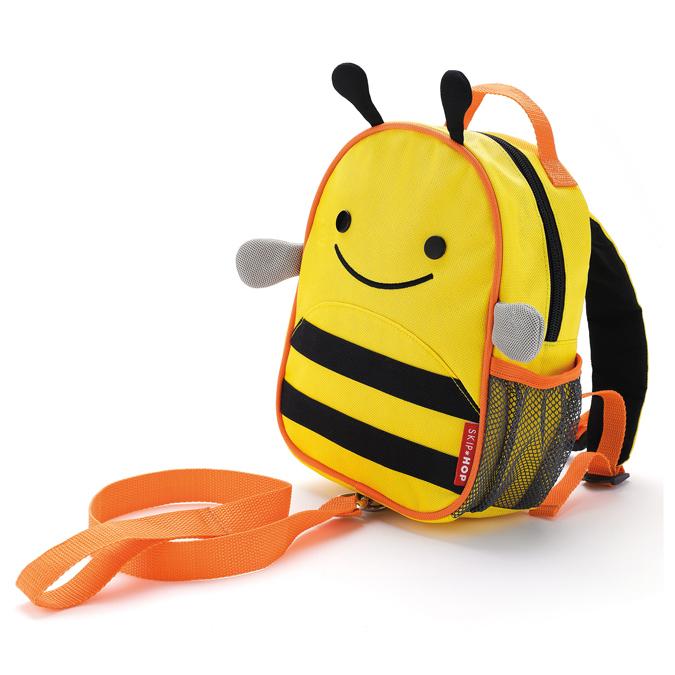 Рюкзак детский с поводком Skip Hop Zoo Пчела