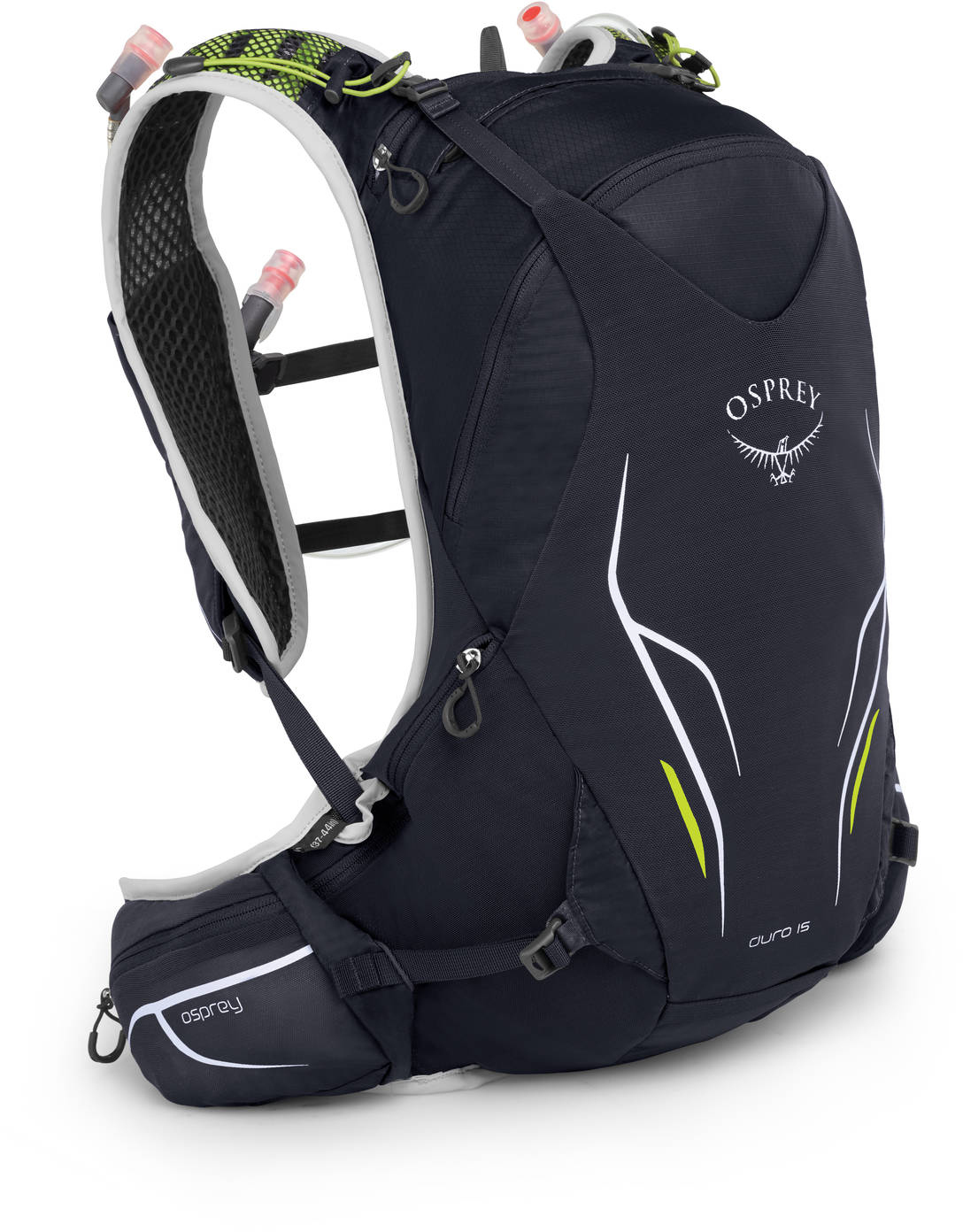 Рюкзаки для бега Рюкзак для бега Osprey Duro 15 Alpine Black Duro_15_S19_Side_Alpine_Black_web.jpg