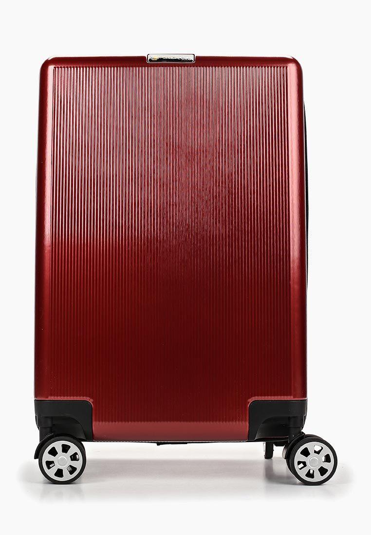 Чемодан SunVoyage SV037-AC113 Аврора красный (S+)