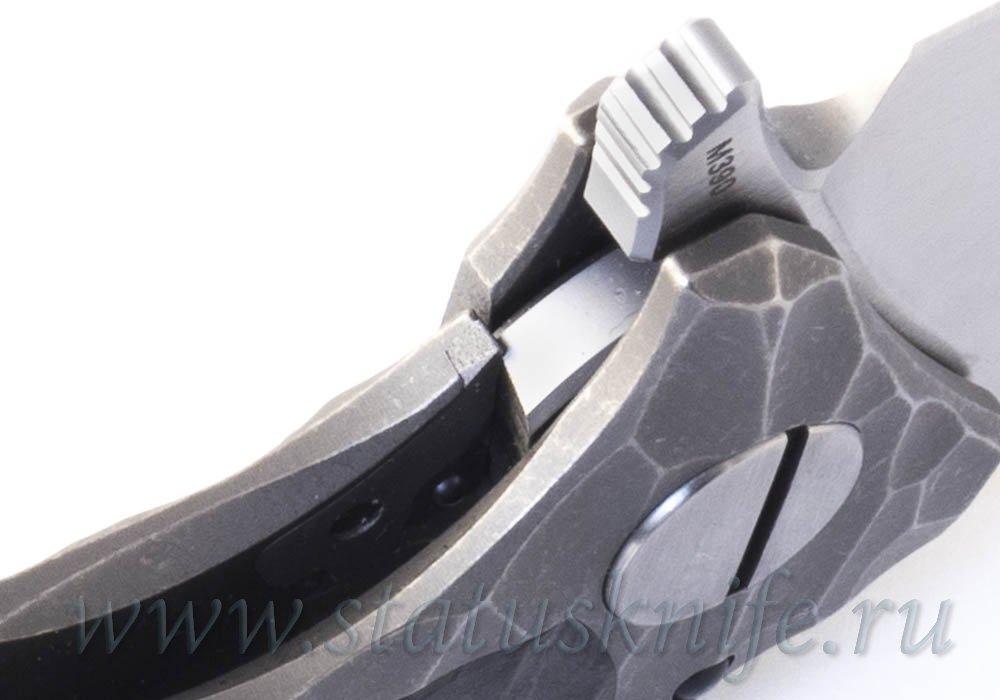 Нож CKF Morrf-5/Моррф-5 SALE CARD (M390, титан+карбон+керамика) - фотография