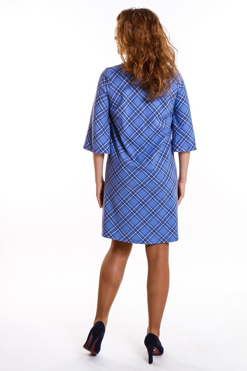 Платье для беременных 09403 синий