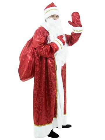 Костюм Дед Мороз узорный 1