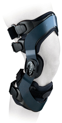 Облегченный 4-точечный жесткий ортез для ежедневного ношения для разгрузки и коррекции вальгусно/варусной установки коленного сустава DonJoy Оа everyday