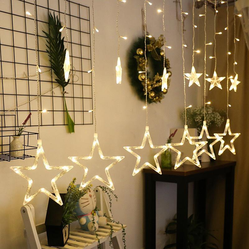 Новогодняя гирлянда Five-Pointed Star