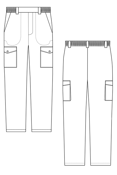 Выкройка костюма для леса без подкладки тех рисунок брюки