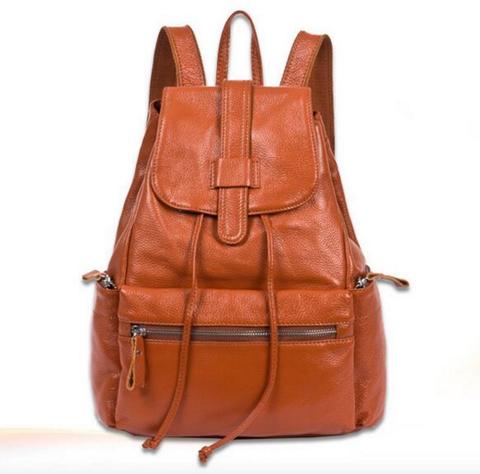 Кожаный женский рюкзак SAC Design