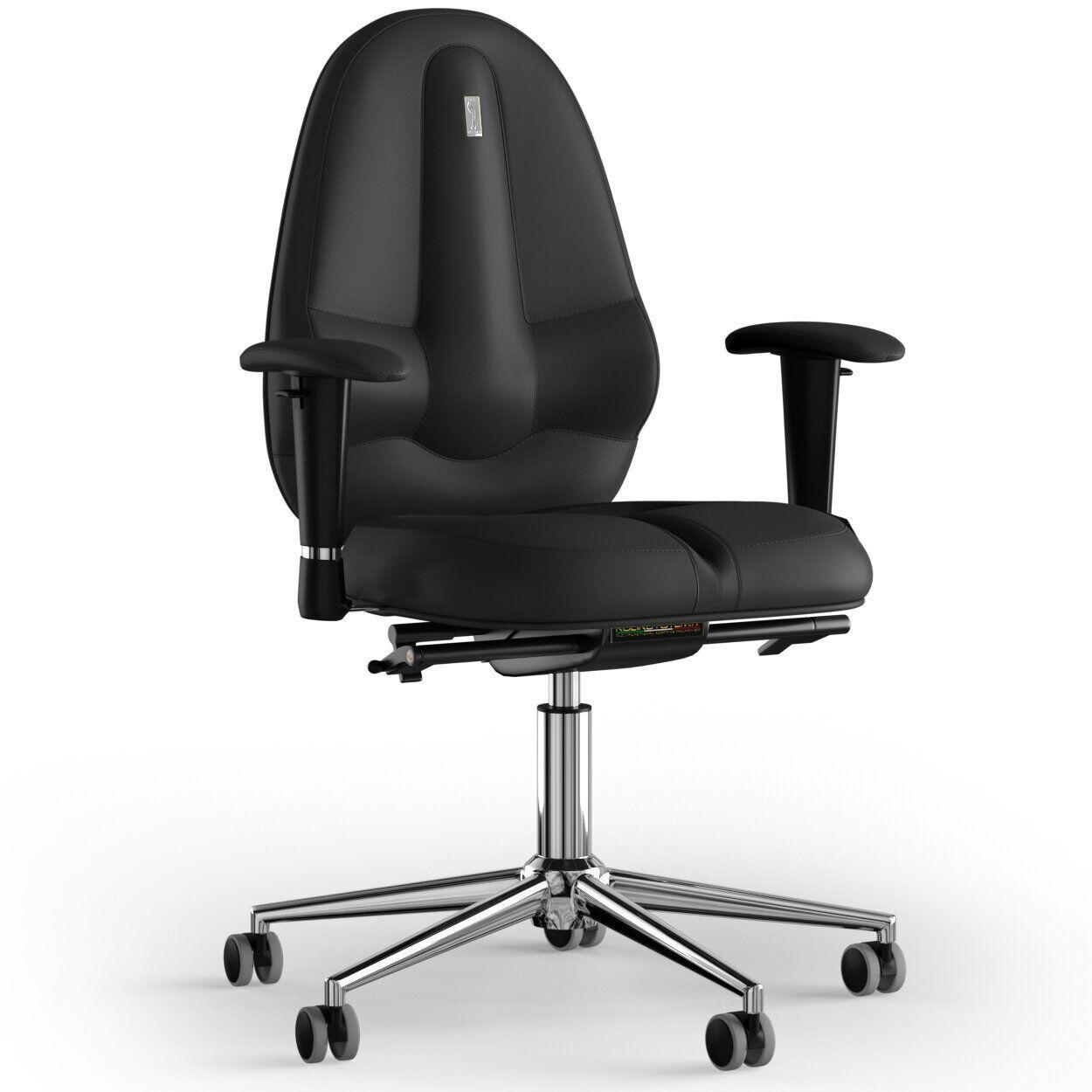 Кресло KULIK SYSTEM CLASSIC Экокожа без подголовника без строчки