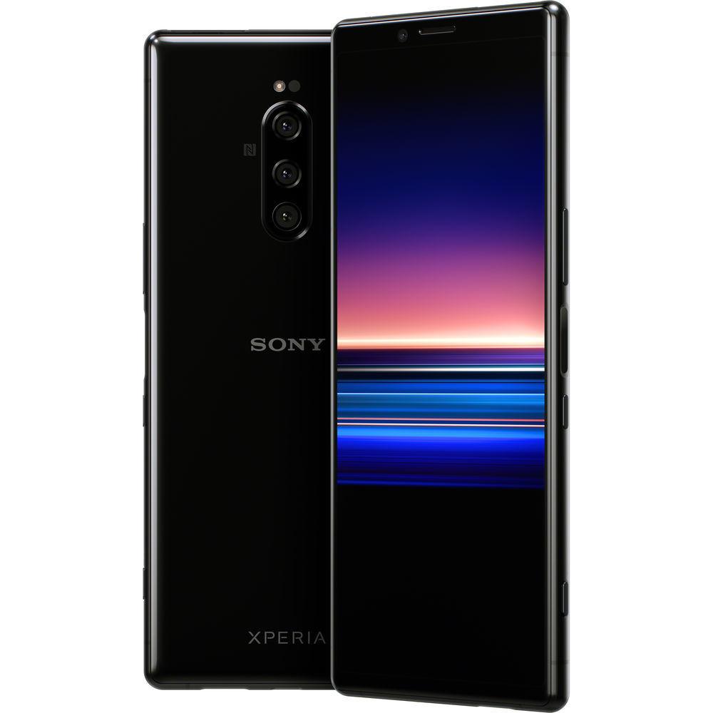 Xperia 1 чёрного цвета купить в интернет-магазине Sony Centre Воронеж