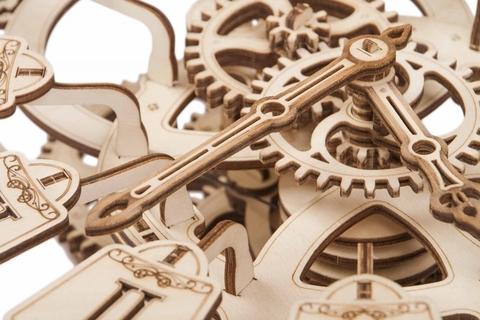 Механическая сборная модель Wood Trick Маятниковые часы