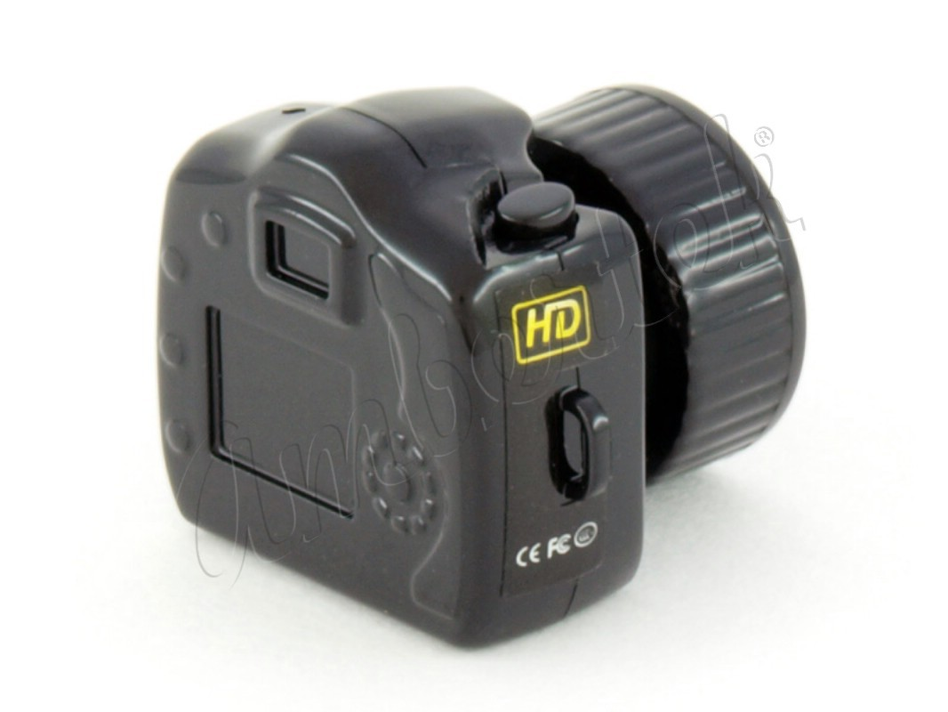 Самая маленькая в Мире видеокамера Ambertek RS101