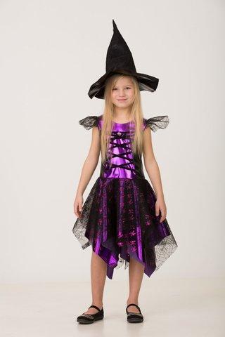 Карнавальный костюм Ведьмочка детский