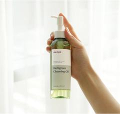 Гидрофильное масло для снятия макияжа Herb Green Cleansing Oil, 200 мл / Manyo Factory Herb Green Cleansing Oil