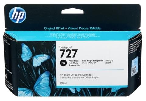 Оригинальный картридж HP B3P23A 727 черный