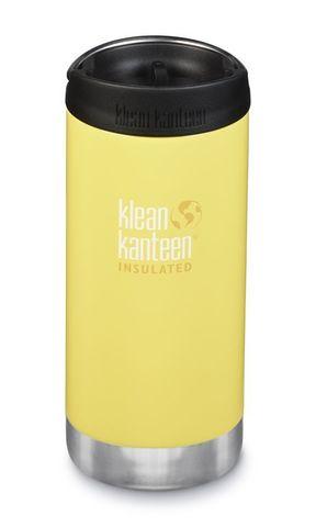 Термобутылка Klean Kanteen TKWide Cafe Cap 12oz (355 мл) Buttercup