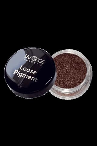 L'atuage Loose Pigment Тени-пигмент для век тон №611 бежево-персиковый