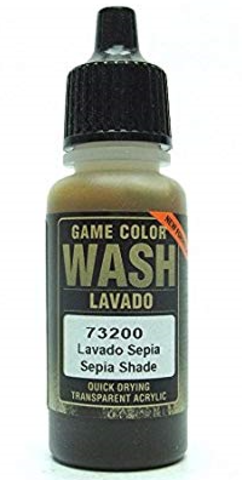 Sepia Wash 17 ml.